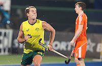 RAIPUR (India) . Dylan Wotherspoon (Aus) has scored 1-0.   . Semi Final Hockey Wold League Final  men . AUSTRALIA v THE NETHERLANDS.  © Koen Suyk/