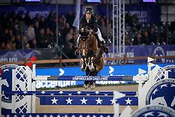 Van Paesschen Constant, BEL, Isidoor van de Helle<br /> Accenture Jumpingclash Challenge<br /> presented by BMW<br /> Jumping Antwerpen 2017<br /> © Hippo Foto - Dirk Caremans<br /> 21/04/2017