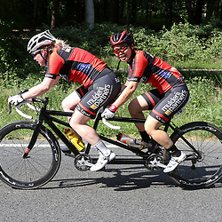 18-06-2017: Wielrennen: NK Paracycling: Montferlands-Heerenberg (NED) wielrennen  <br />Shie Au Yeung(Haarlem) Michelle Stummel