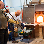 Venice The winds of crisis howling through the world are rattling the doors of the glass blowers of Murano.and more and more furnaces are closing leaving space for more hotels and tourist attactions<br /> Two factors are routinely cited in the industry's decline. One is the difficulty of recruiting young Venetians. The work is demanding and uncomfortable. Glassmakers spend much of their day close to kilns heated to 1400 degrees. The other factor is cheap imitation products.