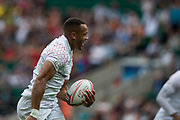 Twickenham, United Kingdom. 2nd June 2018, HSBC London Sevens Series.Dan NORTON, run's in for a try during,  Game 8, Pool C. game, England vs France, played at the  RFU Stadium, Twickenham, England, <br /> <br /> <br /> <br /> © Peter SPURRIER/Alamy Live News