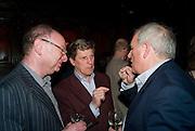 HENRY BRANDMAN; BROUGH SCOTT; KELVIN MACKENZIE, Book launch for Citizen by Charlie Brooks. Tramp. London. 1 April  2009