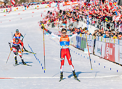 28.02.2019, Seefeld, AUT, FIS Weltmeisterschaften Ski Nordisch, Seefeld 2019, Nordische Kombination, Langlauf, im Bild Jarl Magnus Riiber (NOR) // Jarl Magnus Riiber of Norway during the Cross Country Competition of Nordic Combined for the FIS Nordic Ski World Championships 2019. Seefeld, Austria on 2019/02/28. EXPA Pictures © 2019, PhotoCredit: EXPA/ Stefan Adelsberger