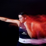 GOLD COAST, AUSTRALIA - NOVEMBER 30:  Boxer Skye Nicolson poses during a portrait session on November 30, 2015 in Gold Coast, Australia.  (Photo by Chris Hyde/Getty Images) *** Local Caption *** Skye Nicolson
