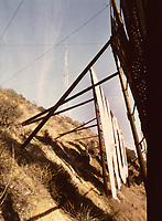 1973 The Hollywood sign in disrepair (1956?)