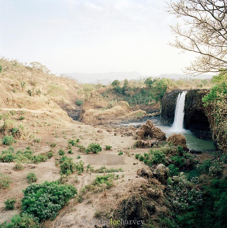 View of the Tissisat Falls, Blue Nile, Lake Tana, North West Ethiopia