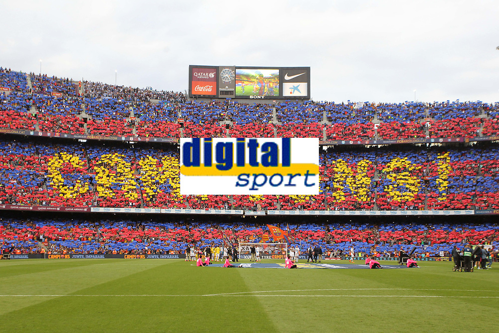 Camp Nou<br /> Tifo Campions<br /> Supporters