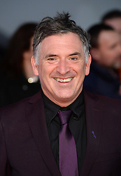 Tony Audenshaw attending the National Television Awards 2018 held at the O2, London. Photo credit should read: Doug Peters/EMPICS Entertainment