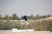 Abu Dhabi, United Arab Emirates (UAE). .March 20th 2009..Al Ghazal Golf Club..36th Abu Dhabi Men's Open Championship..Mathew Turner