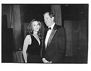David Koch and Julia Flesher. Costume Institute. Metropolitan Museum. NY. 1995.© Copyright Photograph by Dafydd Jones 66 Stockwell Park Rd. London SW9 0DA Tel 020 7733 0108 www.dafjones.com