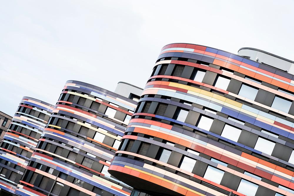 Spaziergang durch Wilhelmsburg, Hamburg am 5. November 2020