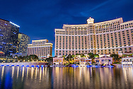 The Bellagio hotel and casino in Las Vegas, Nevada.
