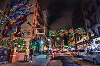 Mulberry Street, Little Italy, Lower Manhattan