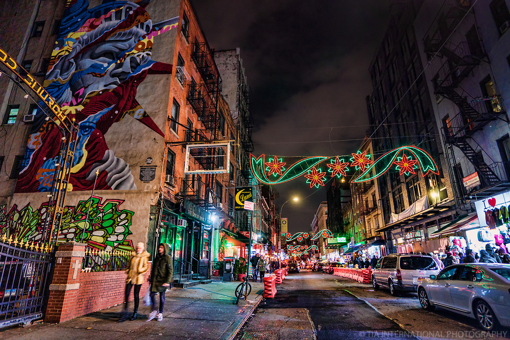 Mulberry Street, Little Italy, Lower Manhattan