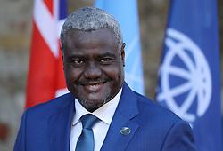 27.05.2017, Taormina, ITA, 43. G7 Gipfel in Taormina, im Bild Moussa Faki Mahamat - Vorsitzender der Kommission der Afrikanischen Union, vorher Präsident des Tschad // Moussa Faki Mahamat - Chairman of the Commission of the African Union - former President of Chad during the 43rd G7 summit in Taormina, Italy on 2017/05/27. EXPA Pictures © 2017, PhotoCredit: EXPA/ SM<br /> <br /> *****ATTENTION - OUT of GER*****