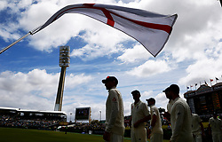 England's Joe Root prepares to take the field during day four of the Ashes Test match at the WACA Ground, Perth.