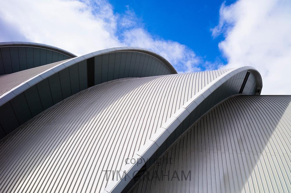 Scottish Exhibition and Conference Centre, SECC  - the armadillo -  in Finnieston district of Glasgow, Scotland, UK