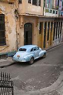 Old American car, Havana, Cuba