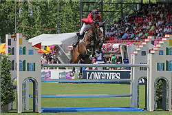 Devos Pieter, (BEL), Dream Of India Greenfield<br /> Furusiyya FEI Nations CupTM presented by Longines<br /> CSIO Sankt Gallen 2015<br /> © Hippo Foto - Stefano Secchi<br /> 05/06/15