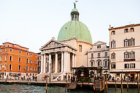 Italy, Venice. Grand Canal
