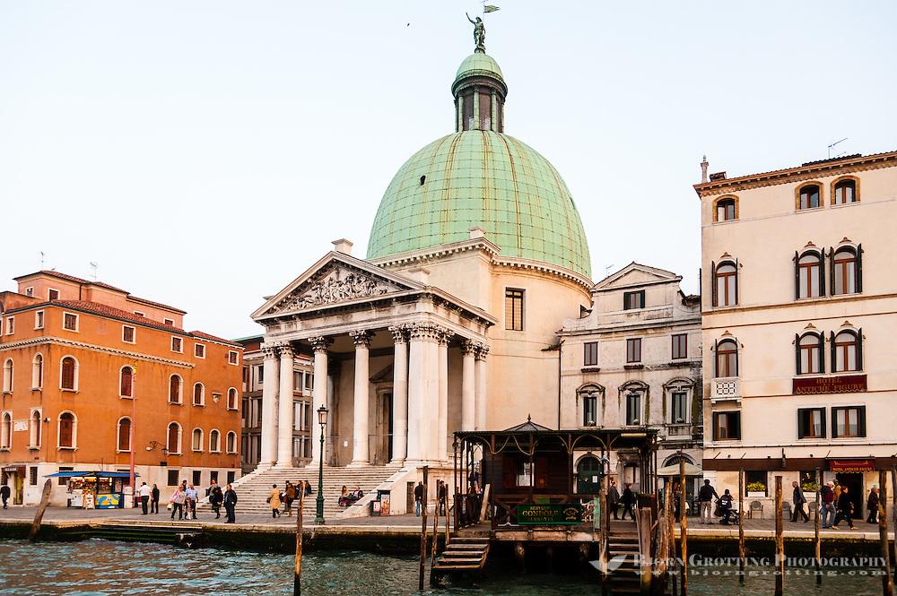 Italy, Venice. Grand Canal