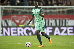 September 3, 2017 - Budapest, Hungary - Danilo of Portugal controls the ball during the FIFA World Cup 2018 Qualifying Round match between Hungary and Portugal at Groupama Arena in Budapest, Hungary on September 3, 2017  (Credit Image: © Andrew Surma/NurPhoto via ZUMA Press)