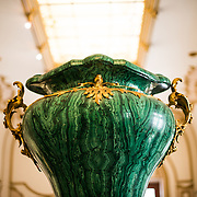 Jade on display at Chapultepec Castle. Since construction first started around 1785, Chapultepec Castle has been a Military Academy, Imperial residence, Presidential home, observatory, and is now Mexico's National History Museum (Museo Nacional de Historia). It sits on top of Chapultepec Hill in the heart of Mexico City.