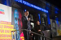 Berlin, 24.09.2021: FDP-Partei- und Fraktionschef Christian Lindner beim Wahlkampfabschluss der FDP im Hof der Königlichen Porzellan-Manufaktur (KPM).