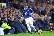Ramiro Funes Mori of Everton in action. Premier league match, Everton v Manchester City at Goodison Park in Liverpool, Merseyside on Sunday 15th January 2017.<br /> pic by Chris Stading, Andrew Orchard sports photography.