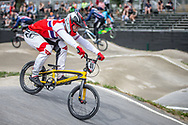 #40 (NAVRESTAD Tore) NOR during practice at Round 5 of the 2018 UCI BMX Superscross World Cup in Zolder, Belgium