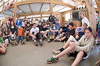 "Gunstock Ski Club ""Blue and Green"" day April 11, 2010."