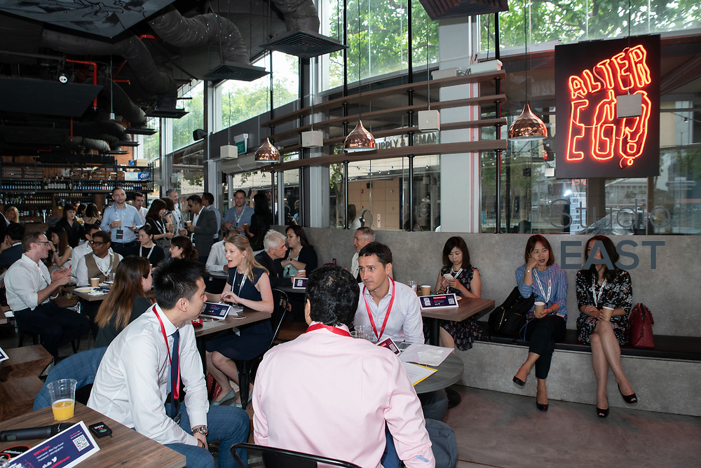 Set-up and Registration during Asia's Top 1000 Brands in Esplanade, Singapore, Singapore, on 6 September 2018. Photo by Steven Lui/Studio EAST