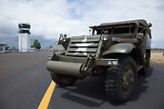 Halftrack at Warbirds Over the West at McNary Field.