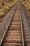 Grand Canyon Railway tracks looking south.