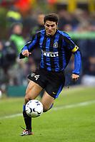 Milano 26/10/2003 <br />Inter Roma 0-0 <br />Javier Zanetti (Inter)<br />Foto Andrea Staccioli / Graffiti