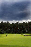 HERKENBOSCH- Hole 12 (rood 3) , Golfbaan Herkenbosch bij Roermond. FOTO KOEN SUYK