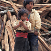 Residents of Chamula villages in Chiapas, Mexico.