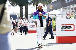 October 25, 2018 - Mexico-City, Mexico - Motorsports: FIA Formula One World Championship 2018, Grand Prix of Mexico, ..#44 Lewis Hamilton (GBR, Mercedes AMG Petronas Motorsport) (Credit Image: © Hoch Zwei via ZUMA Wire)