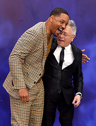 Will Smith and Alan Menken attending the Aladdin European Premiere held at the ODEON Luxe Leicester Square, London