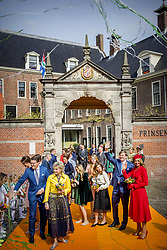King Willem Alexander and Queen Maxima with Princess Amalia , Princess Ariane and Princess Alexia, Princess Laurentien prince Constantijn, Princess Marilene Prince Maurits , Princess Anita and prince Floris attending King's Day Celebrations in Groningen, Netherlands, on April 27, 2018. Photo by Robin Utrecht/ABACAPRESS.COM