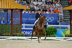 Kemmer Heike (GER) - Bonaparte<br /> Olympic Games Hong Kong 2008<br /> Photo © Dirk Caremans - Hippo Foto