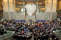 23 MAY 2004, BERLIN/GERMANY:<br /> Uebersicht des Plenarsaales, Sitzung der Bundesversammlung anlässlich der Wahl des Bundespraesidenten, Deutscher Bundestag<br /> IMAGE: 20040523-01-043<br /> KEYWORDS: Bundespräsident, Plenum, Übersicht