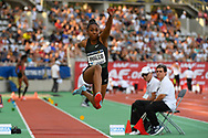Rouguy Diallo (FRA) competes in Triple Jump Women during the Meeting de Paris 2018, Diamond League, at Charlety Stadium, in Paris, France, on June 30, 2018 - Photo Julien Crosnier / KMSP / ProSportsImages / DPPI