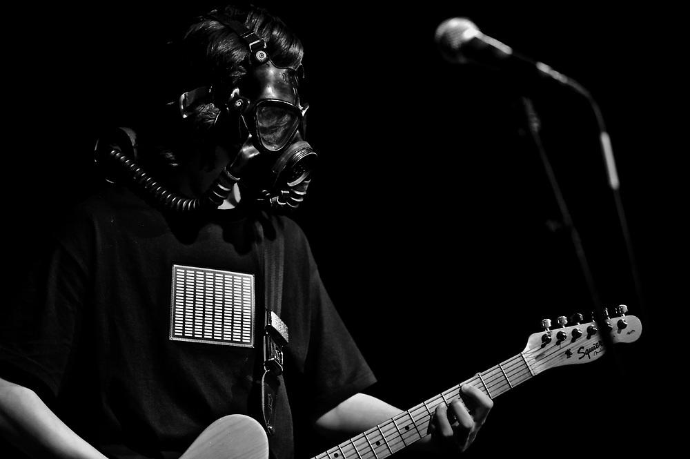 (Saturday January, 17 2009)..Jack's School of Rock Radiohead show at Cancun Cantina.