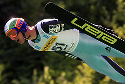 Jakub Janda of Czech Republic at FIS Continental cup Ski-jumping Summer Kranj, on July 6, 2008, Kranj, Slovenia. (Photo by Vid Ponikvar / Sportal Images)<br /> <br /> / Sportida)