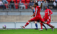 Photo: Leigh Quinnell.<br /> Leyton Orient v Swansea City. Coca Cola League 1. 06/10/2007. Paul Anderson scores the fourth goal for Swansea.