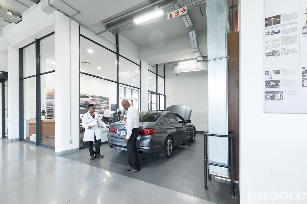 Joburg City Auto BMW dealership images by Greg Beadle