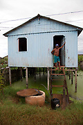 A third of Altamira in the state of Para, Brazil will be flooded to make way for the Belo Monte dam, nearly all the people affected are the poorest in society or indigenous communities that will have nowhere to go if they were made homeless, and the Government payoff for their properties is low therefore making it difficult to find new accomodation