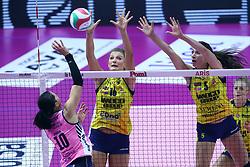 14-10-2017 ITA: Pomi Casalmaggiore - Imoco Volley Conegliano, Cremona<br /> Robin de Kruijf #5 of Imoco Volley Conegliano<br /> <br /> *** Netherlands use only ***