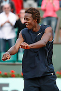 Roland Garros. Paris, France. June 2nd 2008..Gael MONFILS won against Ivan LJUBICIC..Round of 16 (4th Round)...